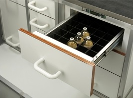 DIMA climate control cabinet with division